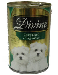Divine Classic Gold Selection Tasty Lamb & Vegetables Canned Dog Food 680g