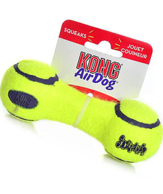 Kong Air Dog Squeaker Dumbbell Small