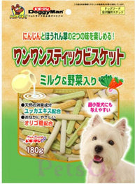 Doggyman Vegetable & Milk Biscuit 180g