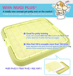 Nugi-Plus Pee Tray With Pee Pad