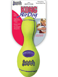 Kong Air Dog Squeaker Bowling Pin Dog Toy Large