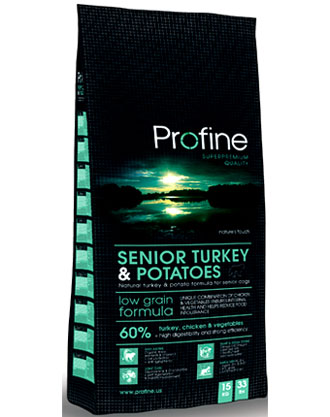 Profine Low Grain Senior Turkey & Potato Dry Dog Food - Kohepets