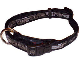 Rogz Fancy Dress Scooter Dog Collar Barbwire XL