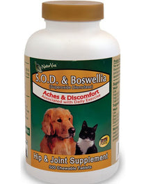 NaturVet SOD & Boswellia Supplement 150 tab