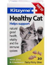 Kitzyme Healthy Cat With Zinc And Cranberry 30 tab