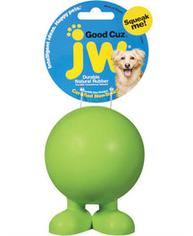JW Good Cuz Rubber Dog Toy Large