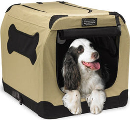 Firstrax Petnation Port-A-Crate Model E Portable Crate For Pets 28in