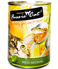 Fussie Cat Fresh Mackerel Canned Cat Food 400g