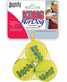Kong Air Dog Squeaker Tennis Ball 3 Pack Small