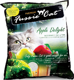 Fussie Cat Apple Delight Scoopable Cat Litter 10L