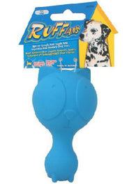 JW Ruffians Cat Rubber Dog Toy Small
