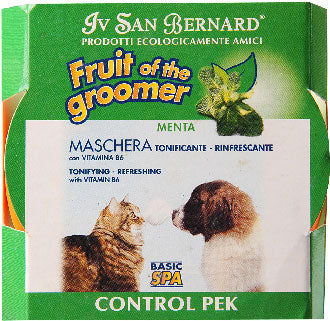 IV San Bernard Fruit Of The Groomer Control Menta Mint Conditioner 250ml - Kohepets