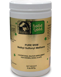 Solid Gold Pure Msm Supplement 8oz