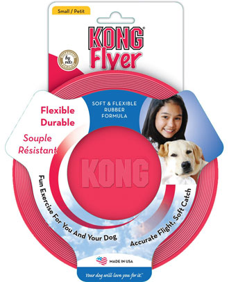 Kong Flyer Dog Toy Small