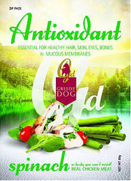 3 FOR $10: Greedy Dog Antioxidant Spinach Dog Treat 80g