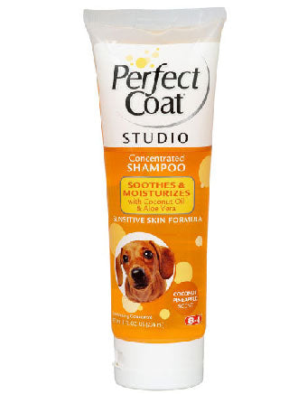 Perfect Coat Studio Sensitive Moisturizing Shampoo For Dogs 8oz - Kohepets