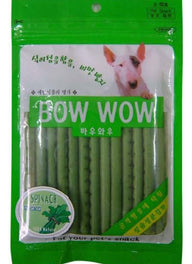 Bow Wow Spinach Sticks Dog Treat 100g