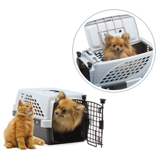Firstrax Noztonoz Pet Suite Multi-Use Pet Kennel Double Door 23in - Kohepets