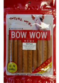 Bow Wow Salmon Cheese Roll Stick Dog Treat 120g