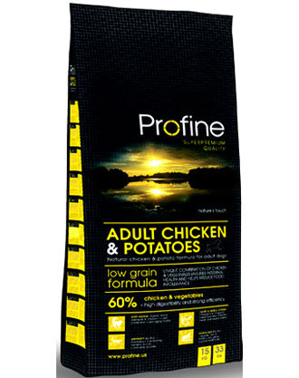 Profine Low Grain Chicken & Potato Dry Dog Food