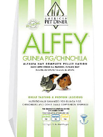 American Pet Diner Alffy Guinea Pig & Chinchilla Pellet 2.75lb
