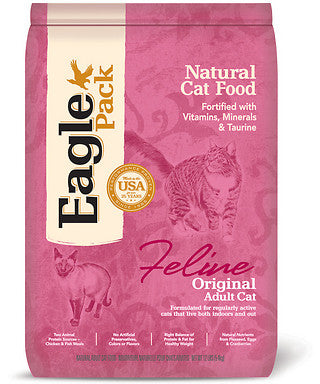 Eagle Pack Original Adult Dry Cat Food 3lb - Kohepets