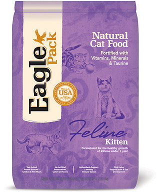 Eagle Pack Kitten Dry Cat Food 3lb