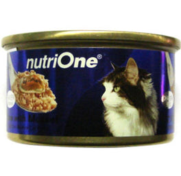 Nutri One Tuna With Mussel Canned Cat Food 85g