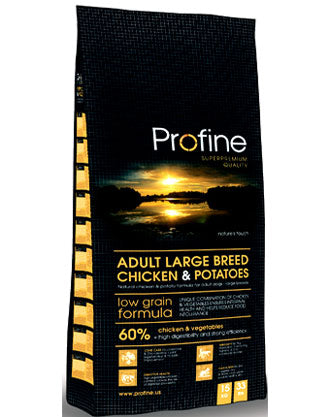Profine Low Grain Large Breed Chicken & Potato Dry Dog Food - Kohepets