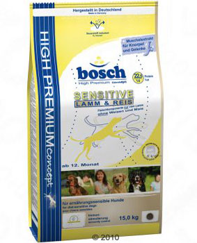 Bosch High Premium Sensitive Lamb & Rice Dry Dog Food
