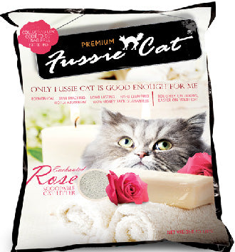 Fussie Cat Enchanted Rose Scoopable Cat Litter 10L