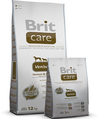 Brit Care Venison & Potato Dry Dog Food