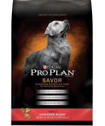 Pro Plan Shredded Blend Lamb & Rice Dry Dog Food
