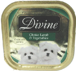 Divine Classic Gold Selection Tasty Lamb & Vegetables Tray Dog Food 100g