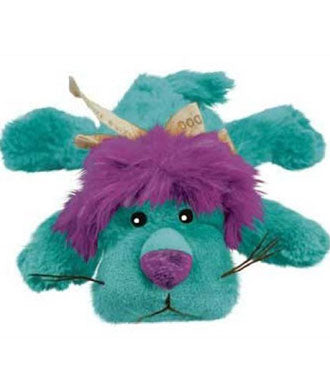 Kong Cozie King The Purple Haired Lion Medium Dog Toy