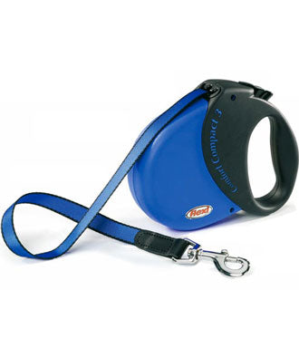 Flexi Comfort Compact 3 Tape Retractable Blue Lead 5M - Kohepets