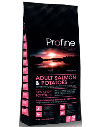 Profine Low Grain Salmon & Potato Dry Dog Food - Kohepets