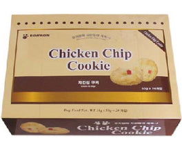 Bow Wow Chicken Chip Cookie Dog Biscuits 20ct