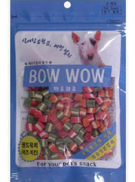 Bow Wow Mixed Cheese Sandwich Cut Dog Treat 120g