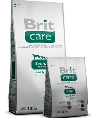 Brit Care Senior Lamb & Rice Dry Dog Food