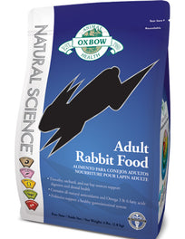 Oxbow Natural Science Adult Rabbit Food 4lb