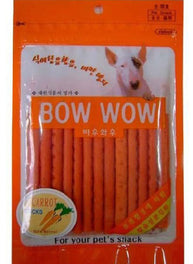 Bow Wow Carrot Sticks Dog Treat 100g