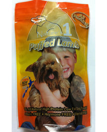 Nature's 1 Puffed Lamb Dog Treats 100g