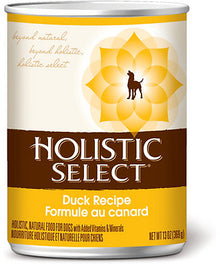 Holistic Select Duck Canned Dog Food 368g