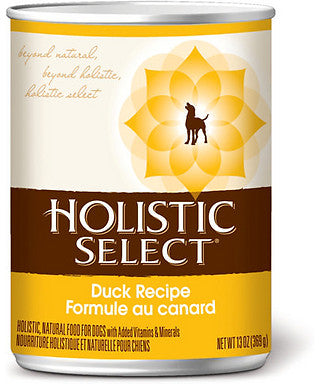Holistic Select Duck Canned Dog Food 368g - Kohepets