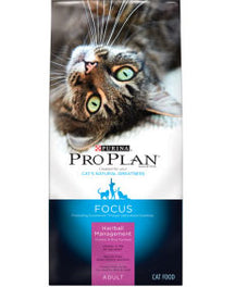 Pro Plan Hairball Management Dry Cat Food 7lb