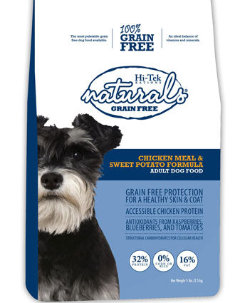 Hi-Tek Naturals Grain Free Chicken Meal & Sweet Potato Dry Dog Food