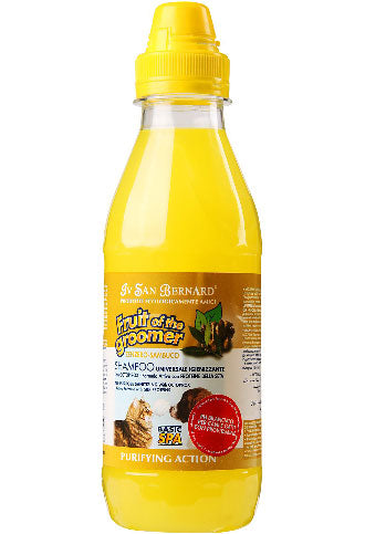 IV San Bernard Fruit Of The Groomer Purifying Zenzero-Sambuco Ginger & Elderberry Shampoo 500ml