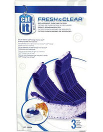 Catit Fresh & Clear Replacement Purifying Filters 3ct
