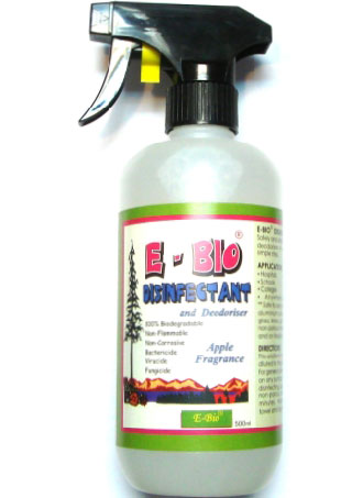 E-Bio Disinfectant & Deodoriser Apple Fragrance - Kohepets